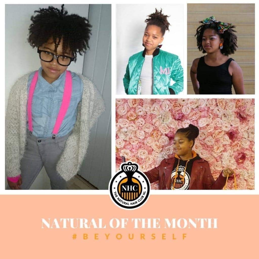 Natural of the month Kayla Daniel