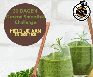 Groene smoothie challenge