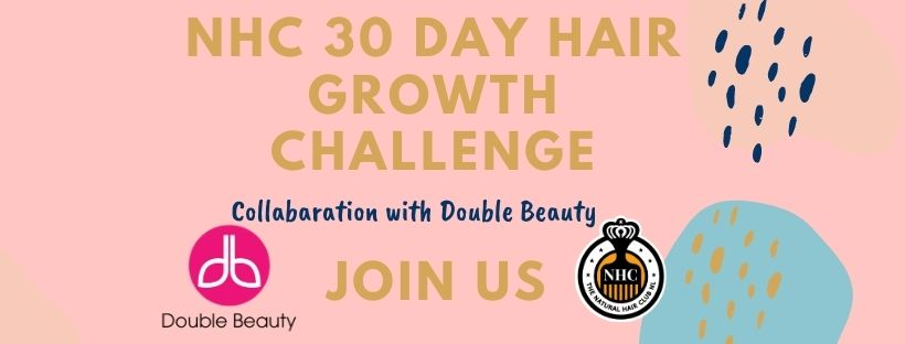 NHC 30 days hair growth Challenge with Double Beauty